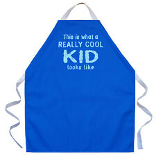 LA Imprints Apron for Children Boys Girls What a Really Cool Kid Looks Like