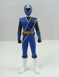 "2016 Bandai Power Rangers Ninja Steel Blue Power Ranger  6.75"" Vinyl Figure"