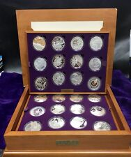 Royal Mint Queens Golden Jubilee Sterling Silver Coin Collection 2002/2003