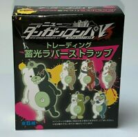 Danganronpa Monokuma Random Blind Box Rubber Strap Keychain Anime 1PCS NEW