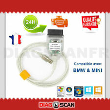 CABLE DIAGNOSTIC SCANNER INPA K+DCAN OBD2 pour BMW MINI avec COMMUTATEUR SWITCH
