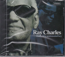 CD 14T RAY CHARLES BLUES IN A SENTIMENTAL KEY NEUF SCELLE 2008