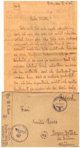 Feldpost Brief 2.WK 5.4. 1945 Pionier Schule Dessau Roßlau (79)