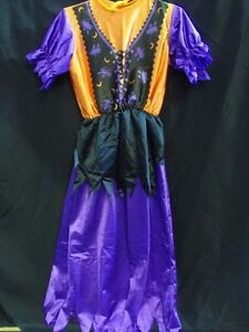FANCY DRESS Kids Witch Dress