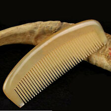 1 Pc Handmade Natural Sheep Horn Comb for Hair Massage Wide Tooth Anti-static