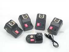 PT-16 16 Channels Wireless/Radio Flash Trigger SET with 4 Receivers