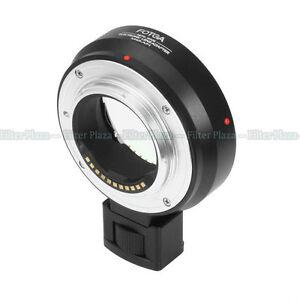 Fotga Metal Auto Focus Adapter for M43 Lens-Olympus Micro 4/3 MMF-1+Tripod Mount