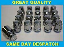 16 x ALLOY WHEEL NUTS & LOCKING NUTS FIT TOYOTA PREVIA PICNIC NADIA MR2 TURBO