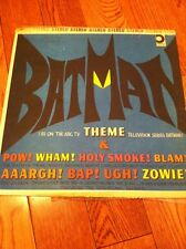 1966 RECORD ALBUM LP BATMAN THEME THE BAT BOYS DESIGN RECORDS VINYL