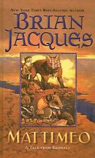 Mattimeo by Brian Jacques (2003, Hardcover)