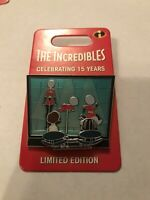 Disney Pin Trading The Incredibles 10th Anniversary Limited Edition Pin