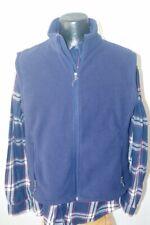 Men's Port Authority Fleece Vest-L-Navy Blue-EUC-Warm-Layering