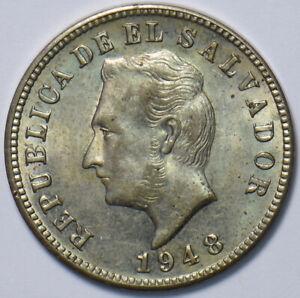 El Salvador 1948 5 Centavos 490692 combine shipping