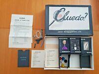 Vintage Cluedo Black Box 1940s Version Board Game No board