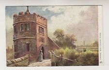 Cheshire postcard - Chester, King Charles Tower - Tuck Oilette No. 1459