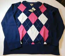 Heritage Collection by Bass Women's Ladies Long Sleeve Sweater L large NWT