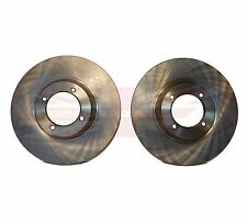 Pair of New Brake Rotors for  Triumph TR3B TR4 TR250 TR6 Price is for 2 Rotors