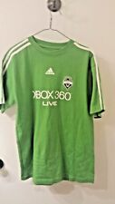Seattle Sounders Adidas Jersey T Shirt In Green Size L