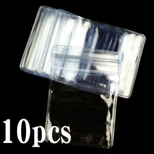 Hot Sale 10PCS Clear Plastic 5x7cm Coin Storage Envelops Case Wallets Bags