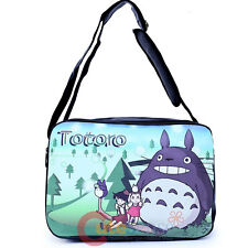 My Neighbor Totoro Messenger Bag Fuax Leather Shoulder Body Cross Bag