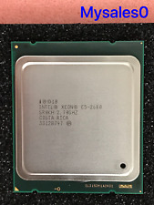 Intel Xeon E5-2680 SR0KH 2.70GHZ 20MB 8GT/s LGA 2011/Socket R Eight-Core CPU