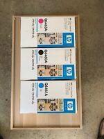 3 X HP Genuine Q6460A / Q6461A / N Q6463A Toner Set- CM4730fsk/CM4730fm #644A