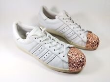 Adidas Superstar Womens Special Edition Metallic Toe Trainers Uk 7 Eu 40.5
