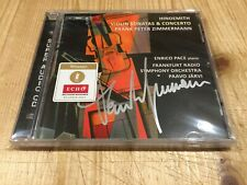 Signed by FRANK PETER ZIMMERMANN Hindemith Violin Sonatas & Concerto BIS SACD