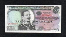 Mozambique 50 Escudos (1976) Pick 116 Replacement UNC