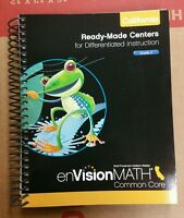 enVision Math Grade 2 California Ready-Made Centers Common Core 0328790222