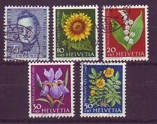 Gestempelte Briefmarken aus der Schweiz (1960-1969)