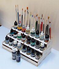 Vernice Bottle Rack Organizer modulare per Vallejo, HATAKA, MIG Vernice 24 Pentole