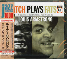 LOUIS ARMSTRONG-SATCH PLAYS FATS-JAPAN CD Ltd/Ed B63
