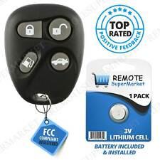 Replacement for Cadillac 1998-2000 Deville Seville Eldorado Remote Car Key Fob (Fits: Cadillac)