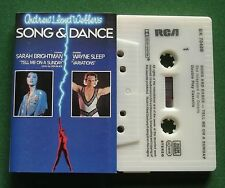 Lloyd Webber Song & Dance / Tell Me On A Sunday Dbl Play Cassette Tape - TESTED
