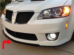 2008 2009 Pontiac G8 GT Front Bumper Lower Lip Splitter Spoiler ABS Plastic