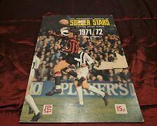 Soccer stars 1971 72