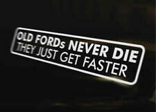 Antiguo Ford más rápido coche decal pegatina de vinilo de Escort Fiesta Xr Rs Sierra Cosworth