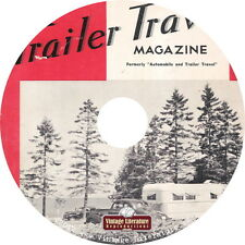 Travel Trailer {Vintage Camping} Magazines of the 1940's & 1950's on DVD
