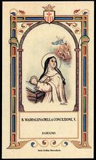 santino-holy card B.MADDALENA DELLA CONCEZIONE DI SIVIGLIA mercedaria