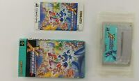 ROCKMAN X Nintendo Super Famicom with BOX Japanese SFC SNES Japan USED
