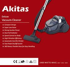 Japan Akitas Pro 2400W bagless cyclone vacuum cleaner Brand New, Postage Free!