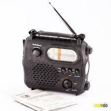 Radio Shack 20-108 AM/FM Weatherband Emergency Crank Radio Flashlight Charger