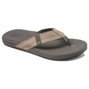 REEF - Mens Flip Flops Sandals - Cushion Bounce Phantom - Brown Tan - UK 9 11 12