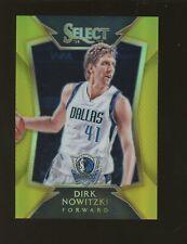 2014-15 Panini Select Gold Prizm #58 Dirk Nowitzki Dallas Mavericks 3/10