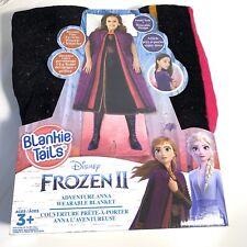 Disney Frozen 2 II Blankie Tails Adventure Anna Wearable Blanket Frozen Blanket