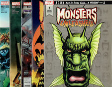 MONSTERS UNLEASHED LOT: #2 3 4 6 7 ALL VARIANT COVERS MARVEL COMICS!