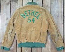 Vintage 1950s Alvin Sportswear Corduroy 2-Tone Varsity Jacket Bethel H.S. Sz.36
