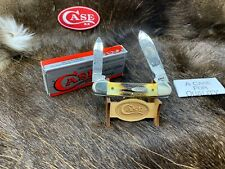 1985 Case Native Series Canoe Knife Stag Handles Mint In Box SN#: 052 - 45A