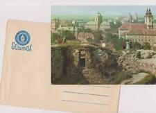 "SZALAY LASZLO Eger Latkep Panorama View Vinyl 7"" Flexi Ungarn Colorvox Postcard"